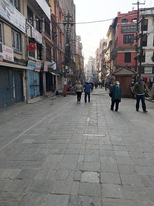 Katmandu'da 1960'lı yıllarda Hippiler'in yoğun şekilde yaşadıkları sokak, hala canlılığını koruyor